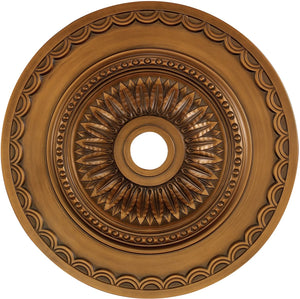 "30""W Brookdale  Ceiling Medallion Antique Bronze"