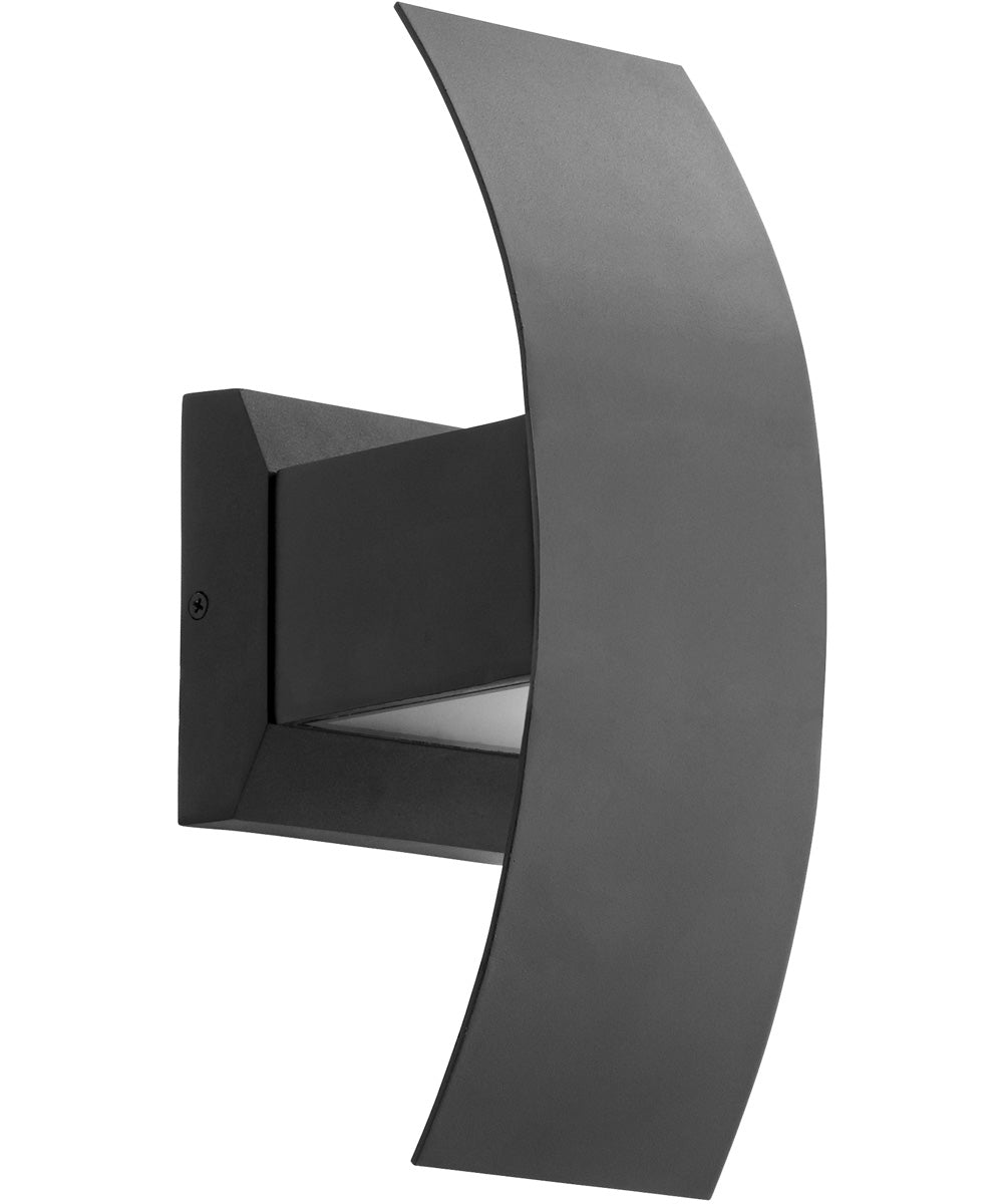 "5""W Curvo 2-light LED Wall Sconce Noir"