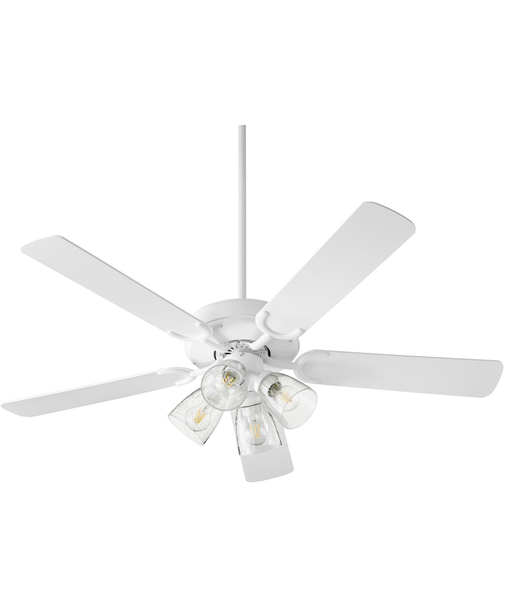 Virtue 4-light LED Ceiling Fan Studio White