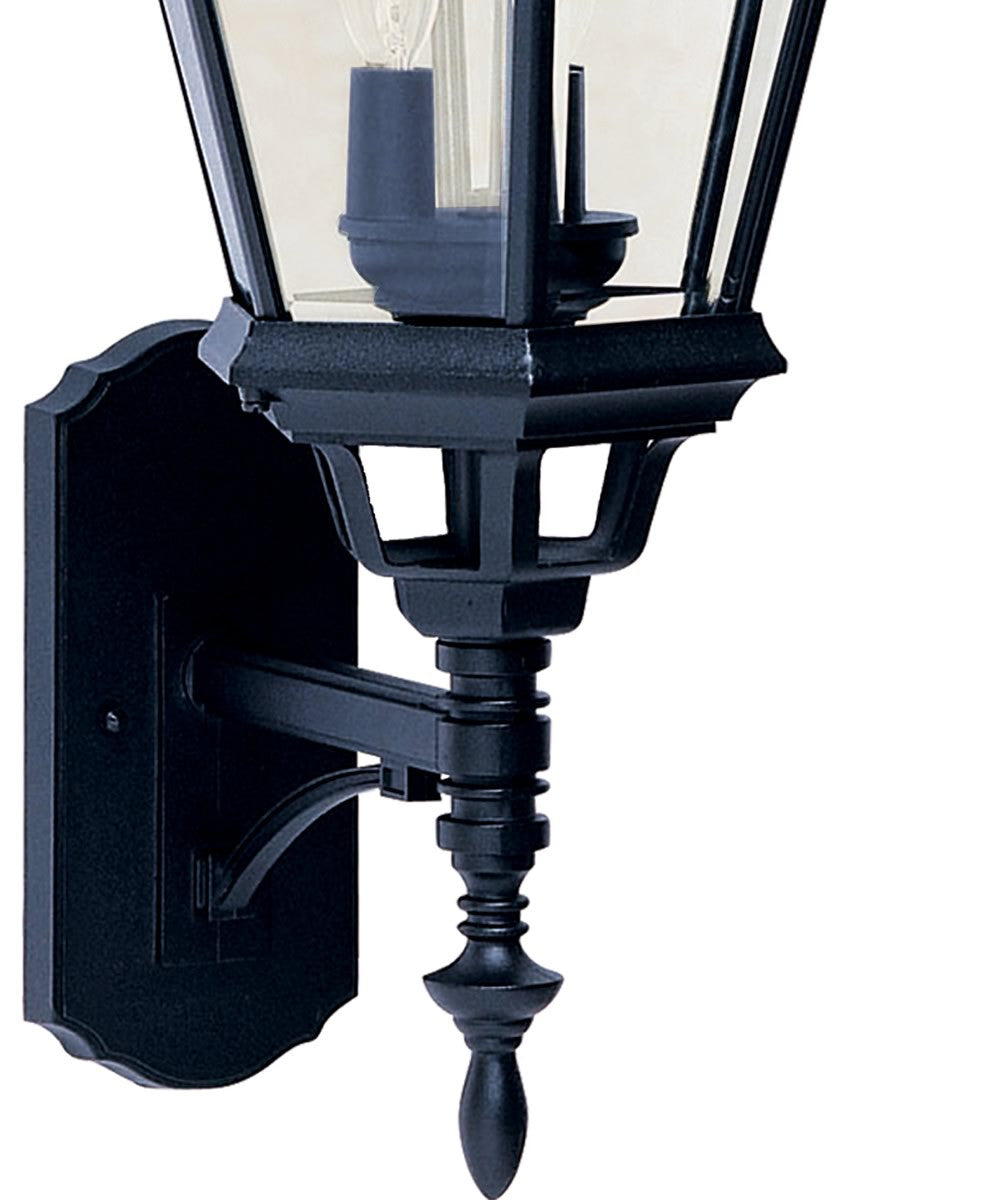 "28""H Westlake 3-Light Outdoor Wall Mount Black"