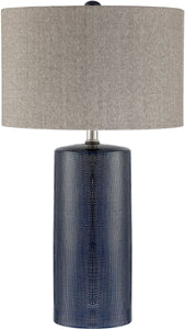 0-002135>Jacoby 1-light Table Lamp Navy Blue