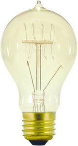 Restoration-Style Incandescent Replacement Bulb  40 Watts Clear