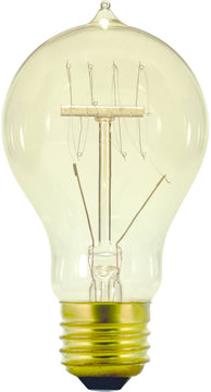 "2""W Restoration-Style Incandescent Replacement Bulb  40 Watts Clear"