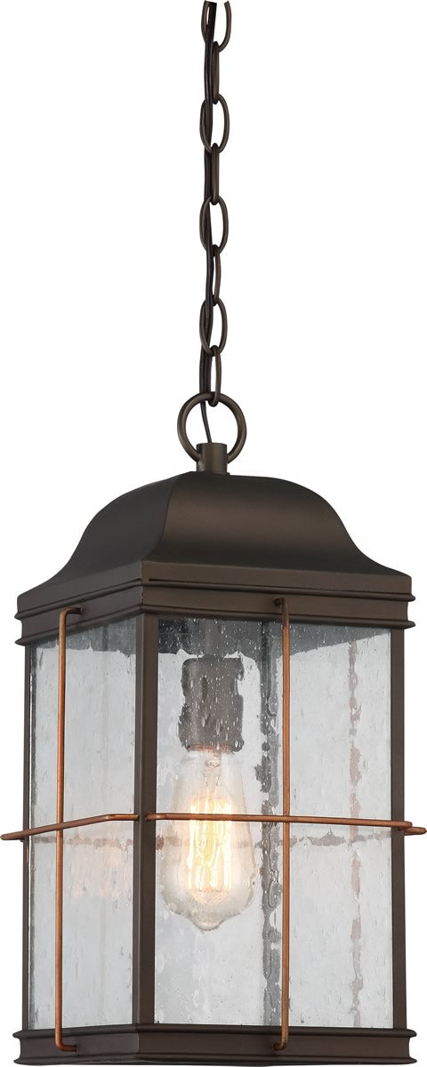 "9""W Howell 1-Light Outdoor Bronze / Copper Accents"