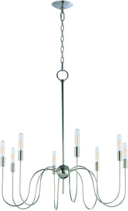 Willsburg 8-Light Chandelier Polished Nickel