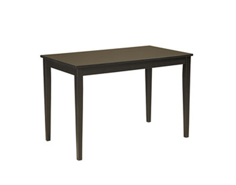 Kimonte Rectangular Dining Room Table Dark Brown