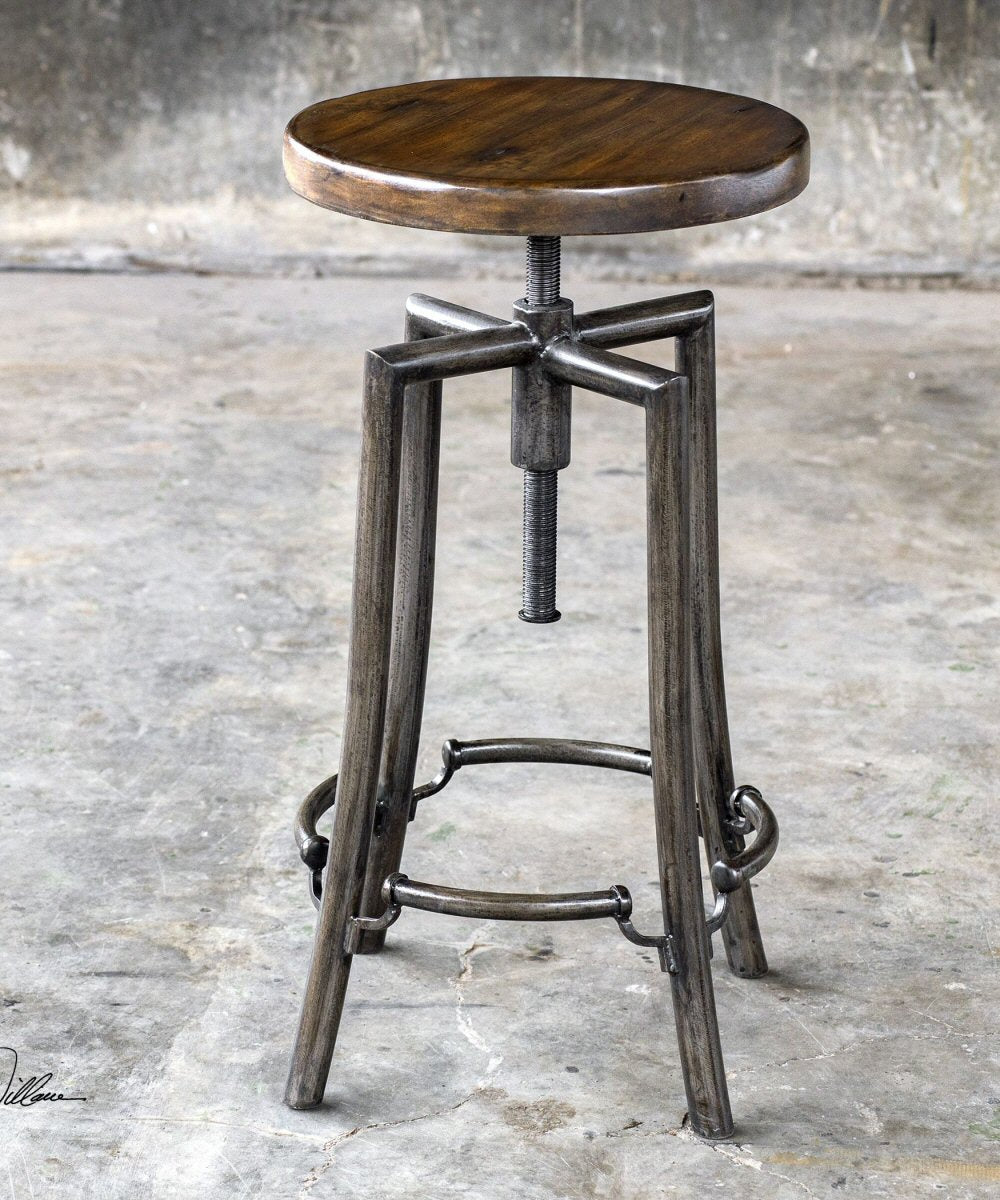 "32""H Westlyn Industrial Bar Stool"