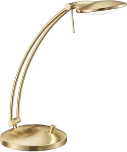 0-000461>Dessau LED Desk Lamp Brass-Matte