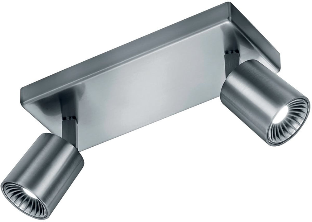 "9""W Cayman LED Wall/Ceiling Light Nickel-Matte"