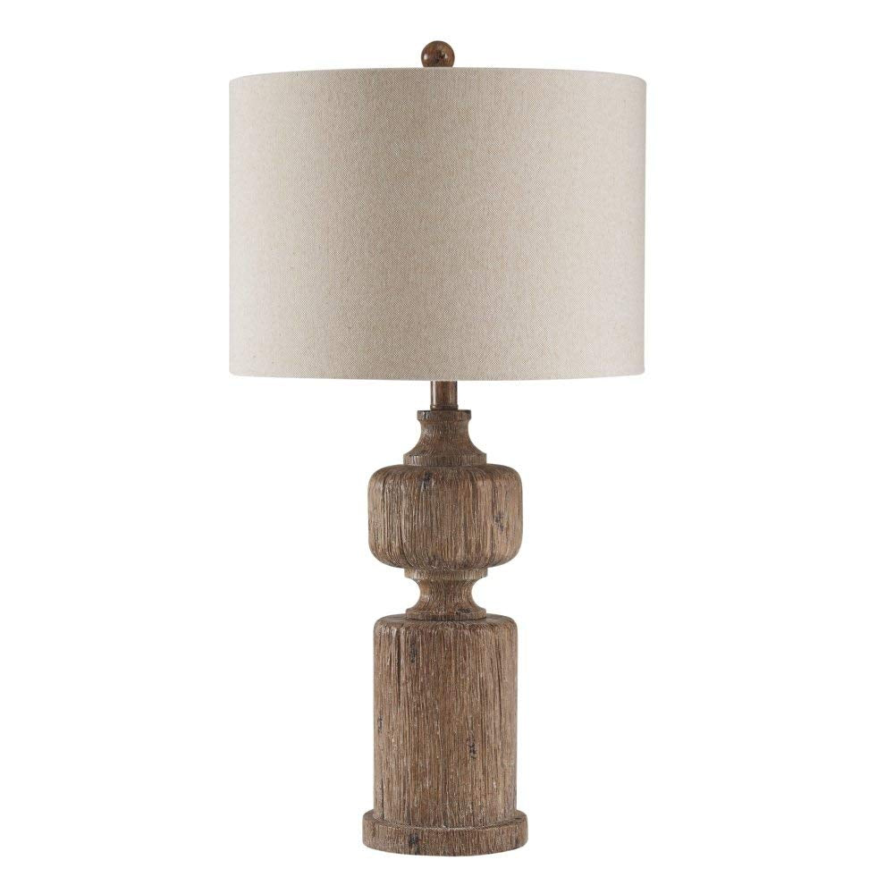 "29""H Madelief Poly Table Lamp (1/CN) Brown"