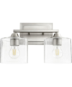 Dakota 2-light Bath Vanity Light Satin Nickel