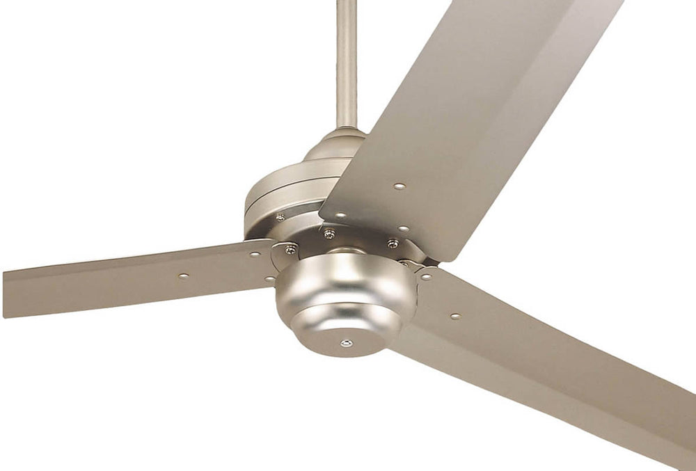 "54""W Ceiling Fan Brushed Pewter 3-Blade"