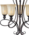 Maxim Infinity 5-Light Chandelier Oil Rubbed Bronze 21305WSOI