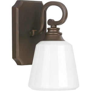 "6""W Leigh 1-Light Sconce Burnished Bronze"