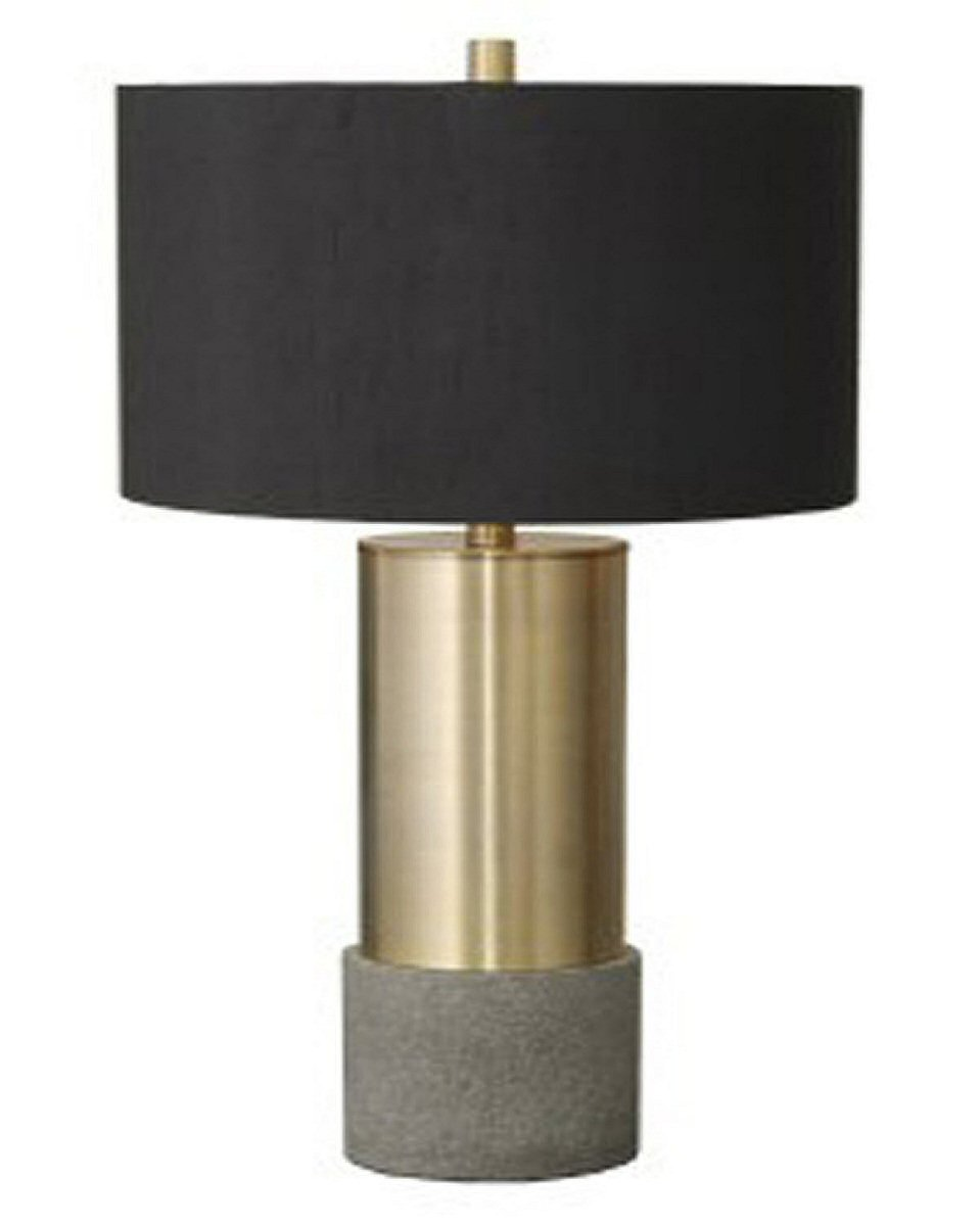 "27""H Jacek Metal Table Lamp (Set of 2) Gray/Brass"