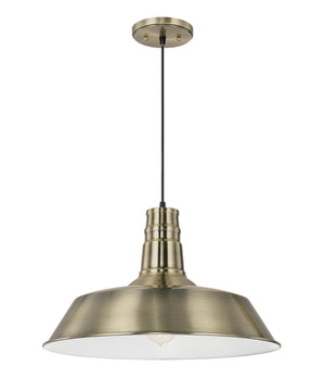 "18""W Ibex 1-Light Pendant Bronze"
