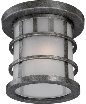 "11""W Manor 2-Light Outdoor Aged Silver"