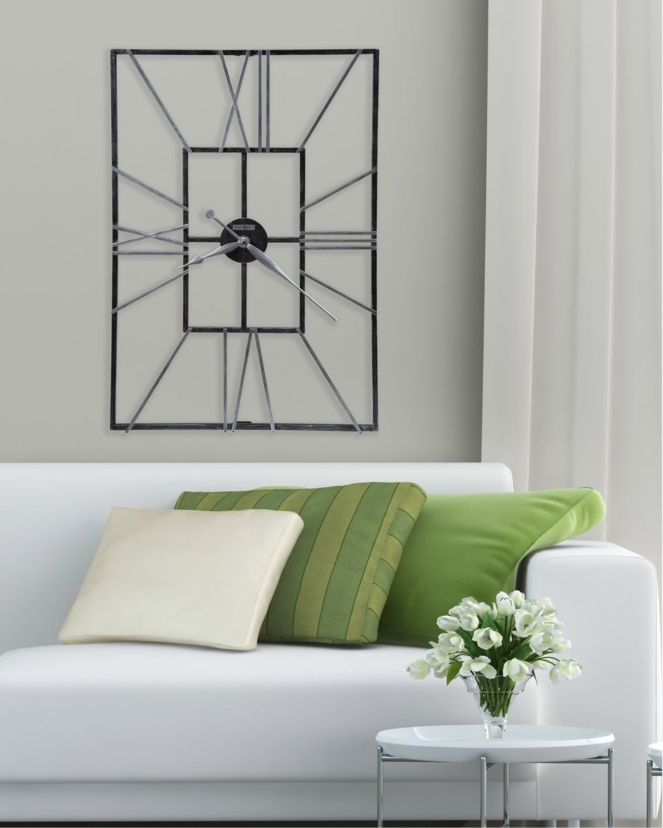 "36""H Park Slope Wall Clock Metal"