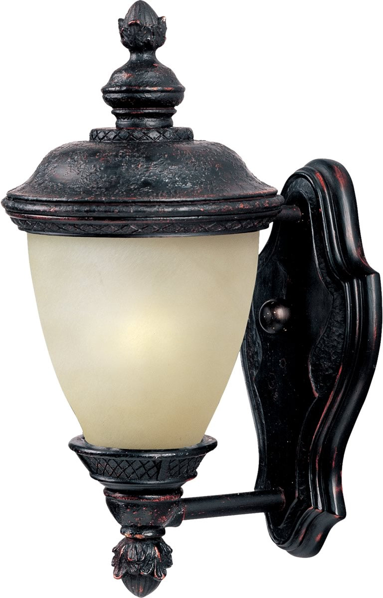 "13""H Carriage House LED 1-Light Outdoor Wall Lantern Oriental Bronze"