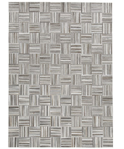 "60""W Gilham Medium Rug Gray"
