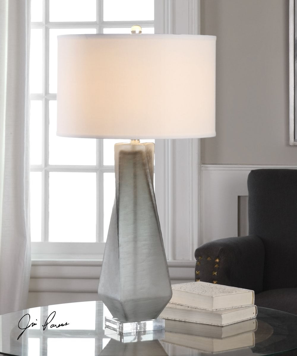 "31""H Anatoli Charcoal Gray Table Lamp"