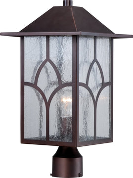 "18""H Stanton 1-Light Outdoor Claret Bronze"