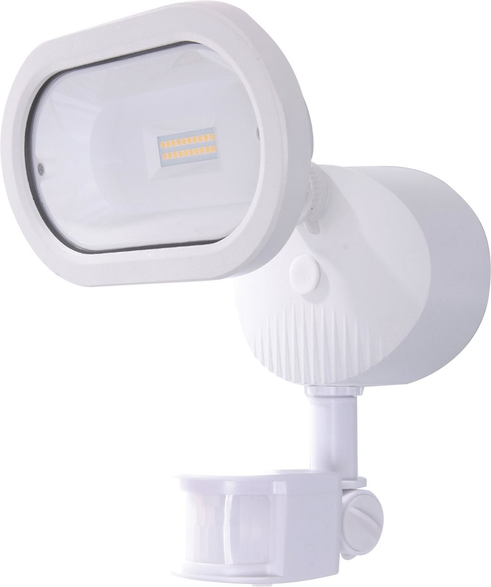 "9""H 1-Light Outdoor White"