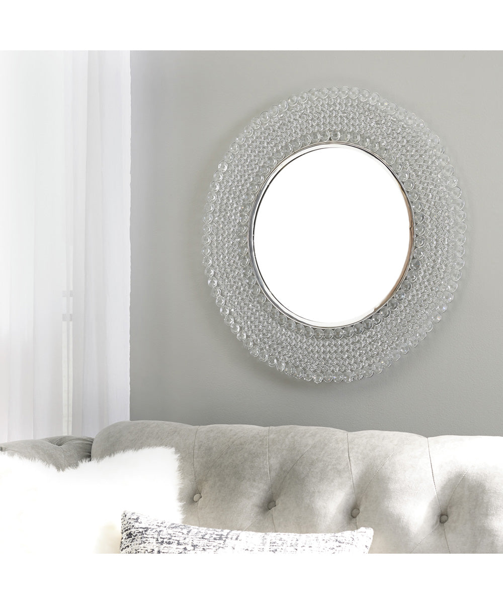 "32""H Marly Accent Mirror Clear/Silver"