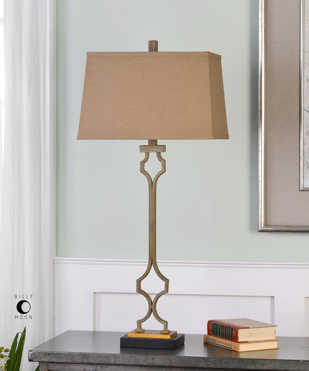 "38""H Vincent Gold Table Lamp"