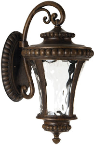 Prescott II LED 1-Light LED Outdoor Wall Light Peruvian Bronze