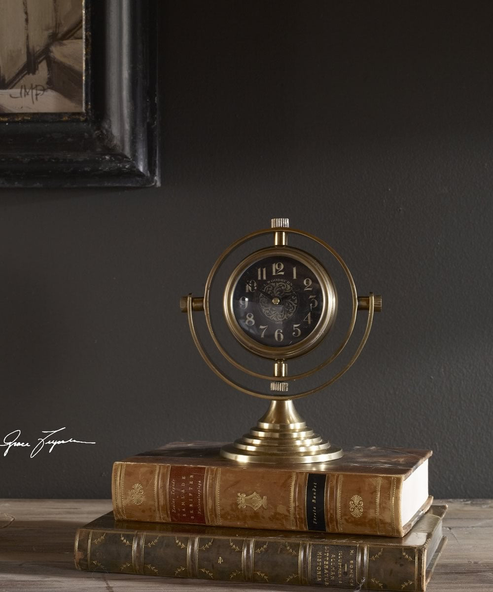 "8""H Almonzo Table Clock"