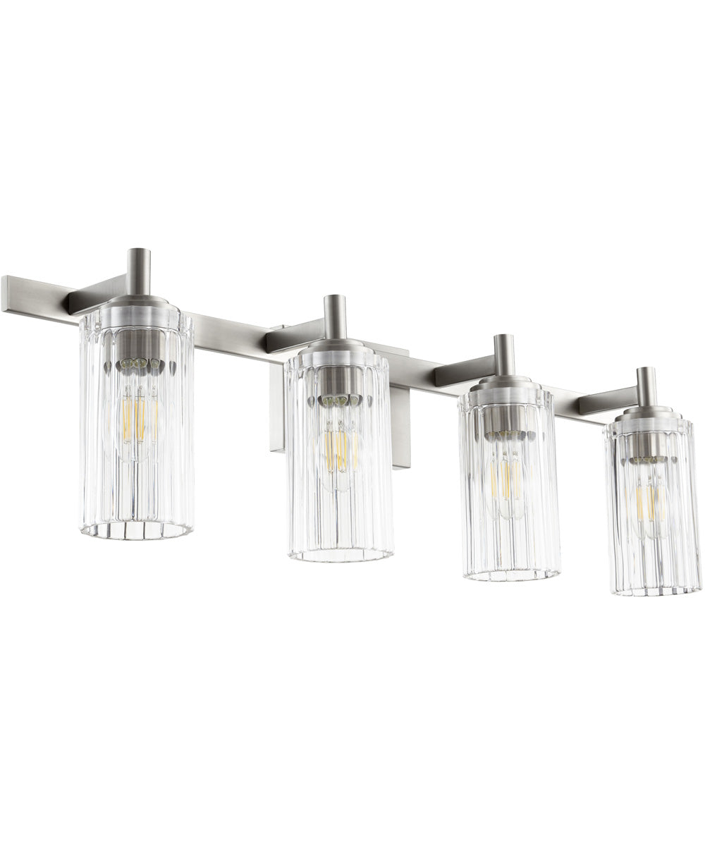 4-light Bath Vanity Light Satin Nickel