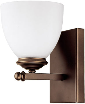 "5""W Chapman 1-Light Sconce Burnished Bronze"