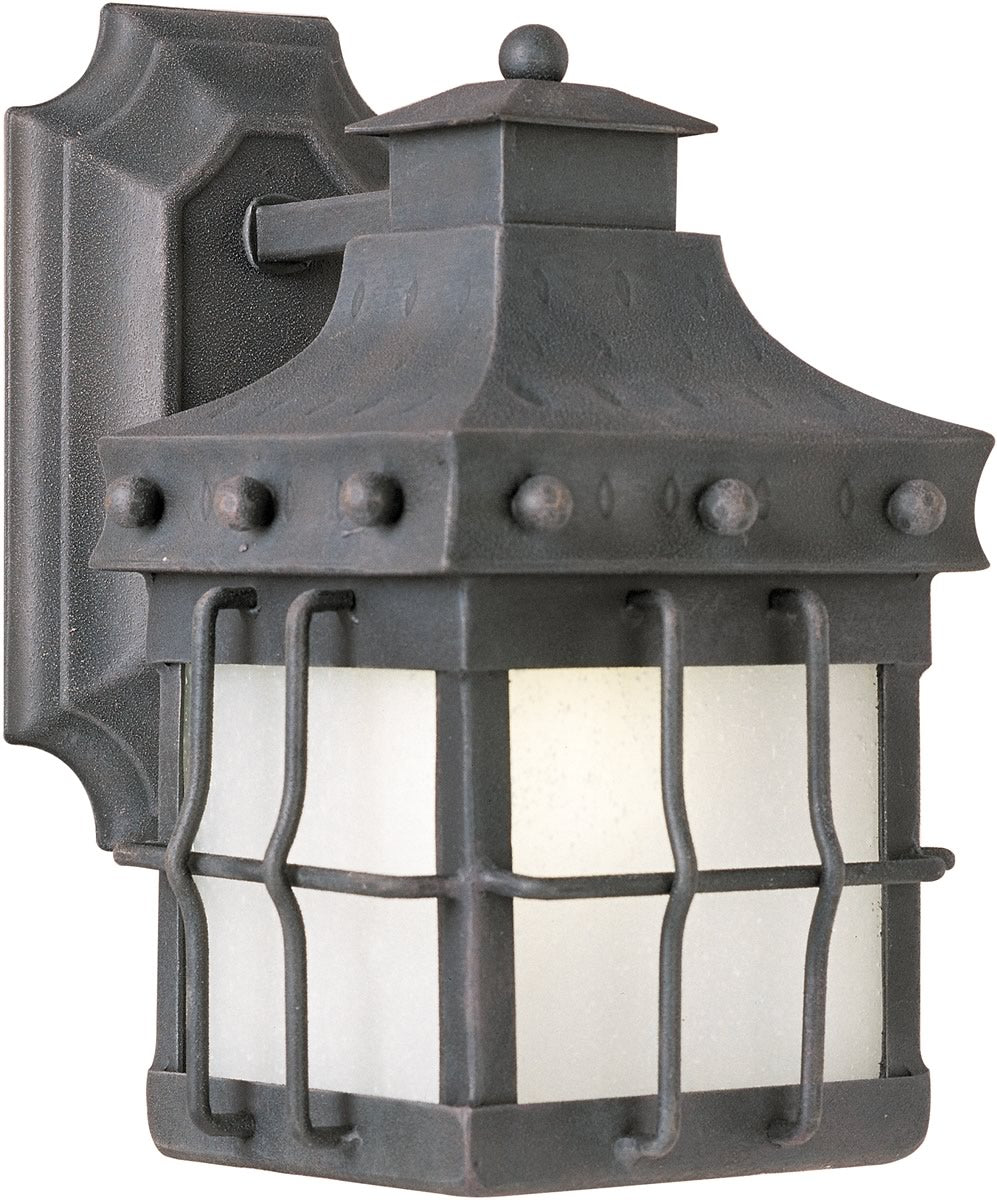 "11""H Nantucket LED 1-Light Outdoor Wall Lantern Country Forge"
