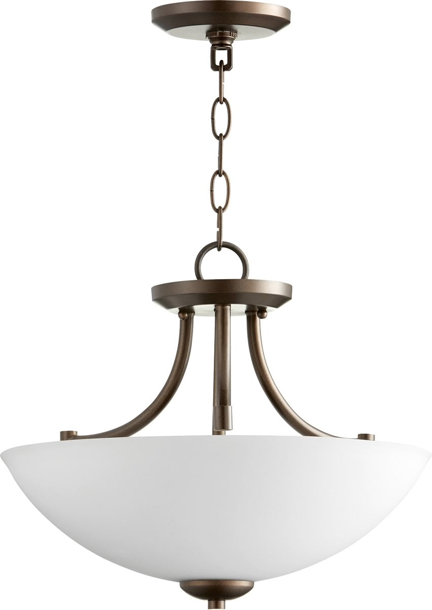 Barkley 3-light Dual Mount Light Fixture Oiled Bronze