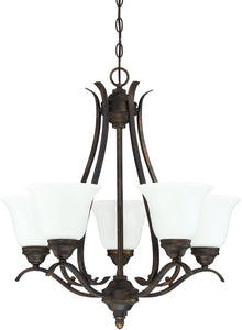 0-006645>McKinney 5-Light Chandelier Burleson Bronze