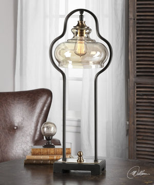 "29""H Cotulla Aged Black Desk Lamp"