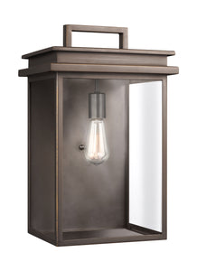 Glenview 1-Light Outdoor Wall Lantern Antique Bronze