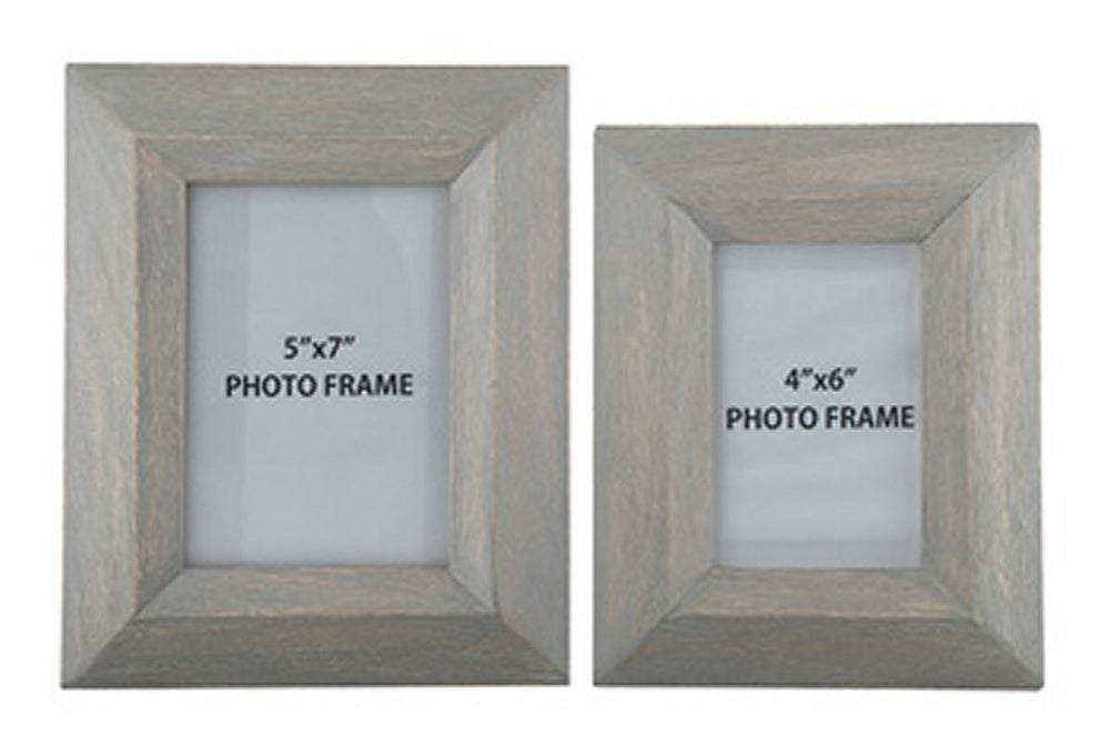 Cadewyn Photo Frame (2 Sets of 2) (4 total) Gray