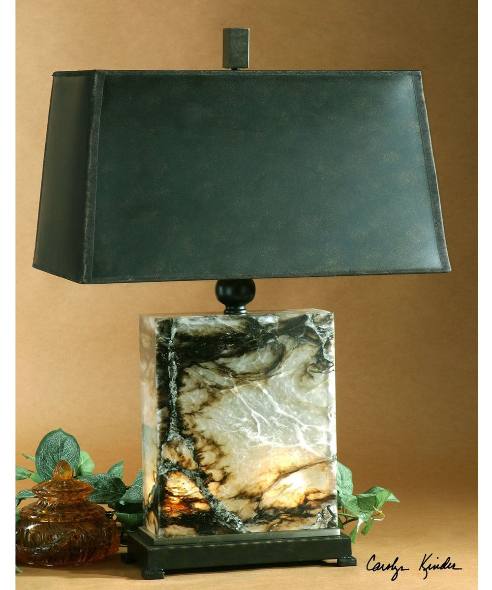 "30""H Marius Marble Table Lamp"
