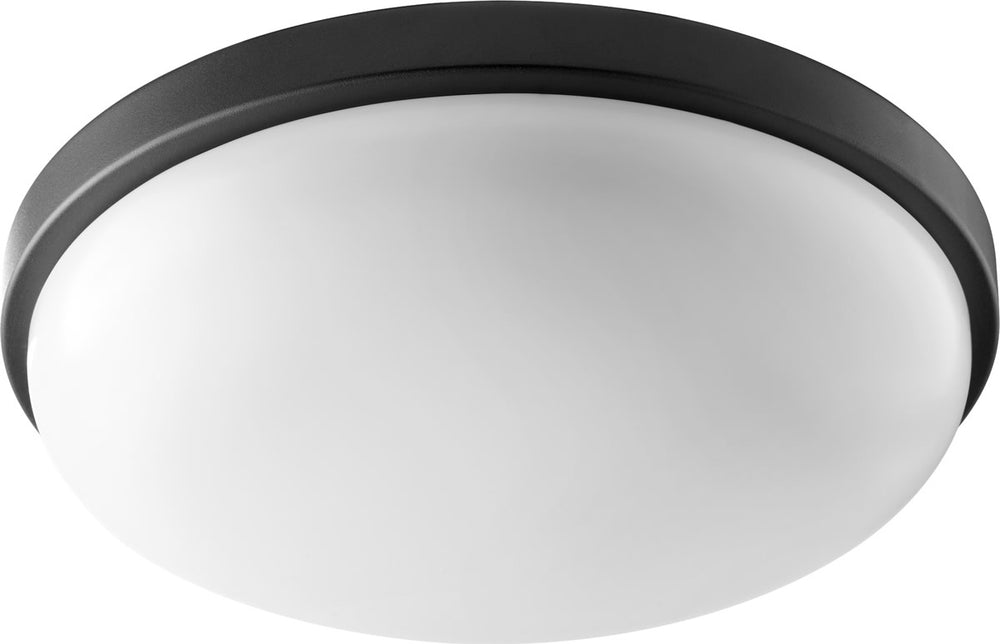 1-light LED Ceiling Flush Mount Noir