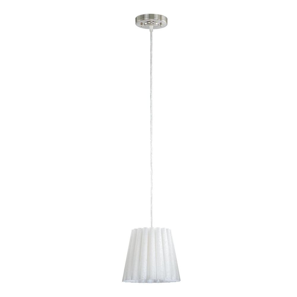 "8""W Selby 8 Mini Pendant Satin Nickel"