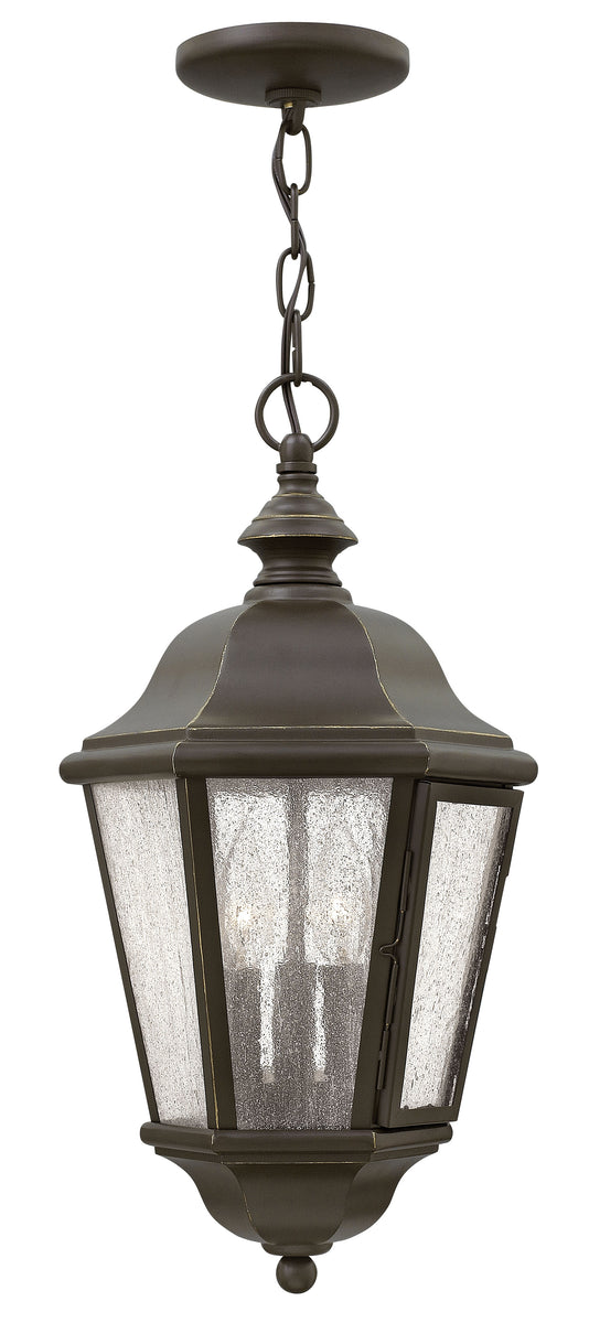 Edgewater 3-Light Outdoor Hanging Light in Oil Rubbed Bronze