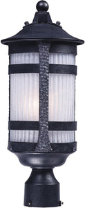 "19""H Casa Grande 1-Light Outdoor Post Anthracite"