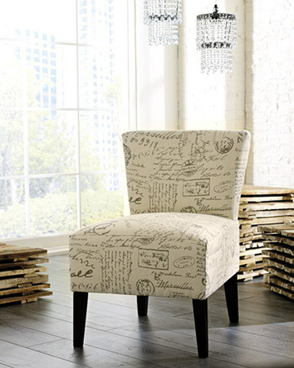 "33""H Ravity Accent Chair Taupe"