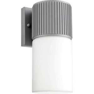 "10""H Manhattan 1-Light Indoor/Outdoor Wall Sconce Grey"
