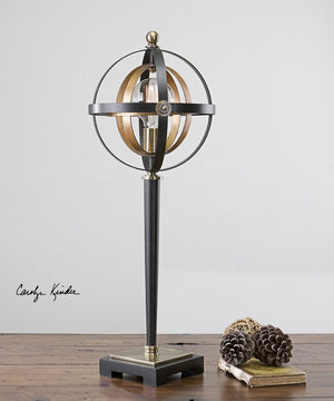 "29""H Rondure Sphere Table Lamp"