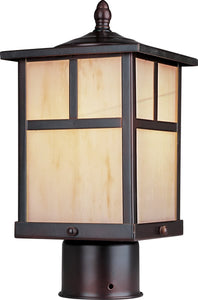 Coldwater LED 1-Light Outdoor Pole/Post Lantern Burnished