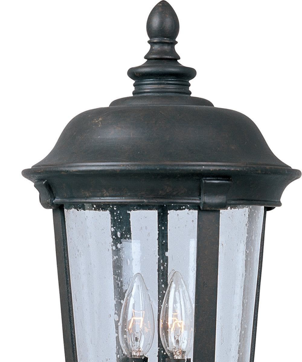 "21""h Dover Vivex 3-Light Outdoor Pole/Post Mount Bronze"
