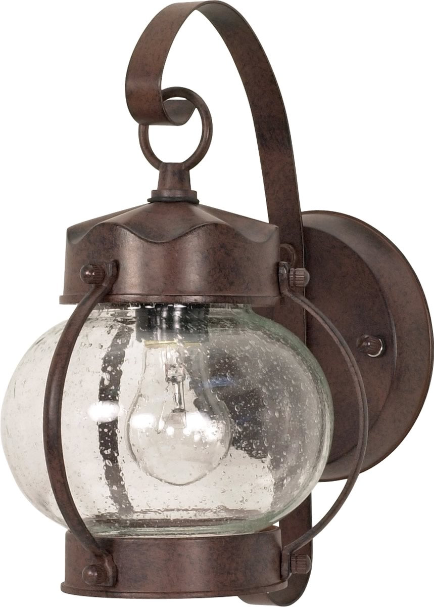 "11""H 1-Light Outdoor Old Bronze"